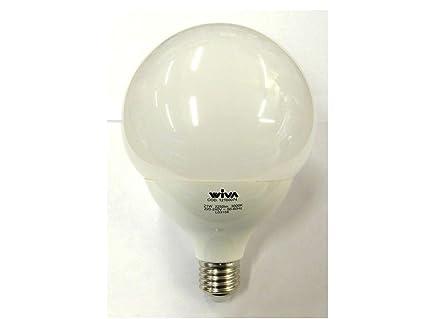Lampade A Globo A Risparmio Energetico : Wiva led a risparmio energetico lampada led pro globo e w