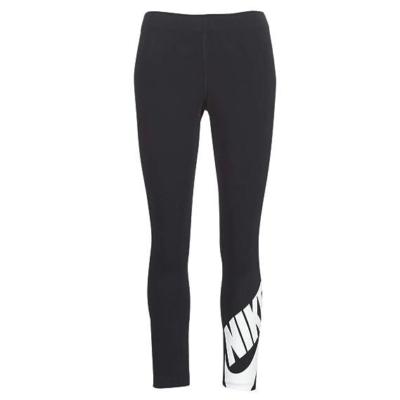 Nike Damen Trainings Fitness Leggings Tight Hose NIKE W NSW LEG A SEE grau