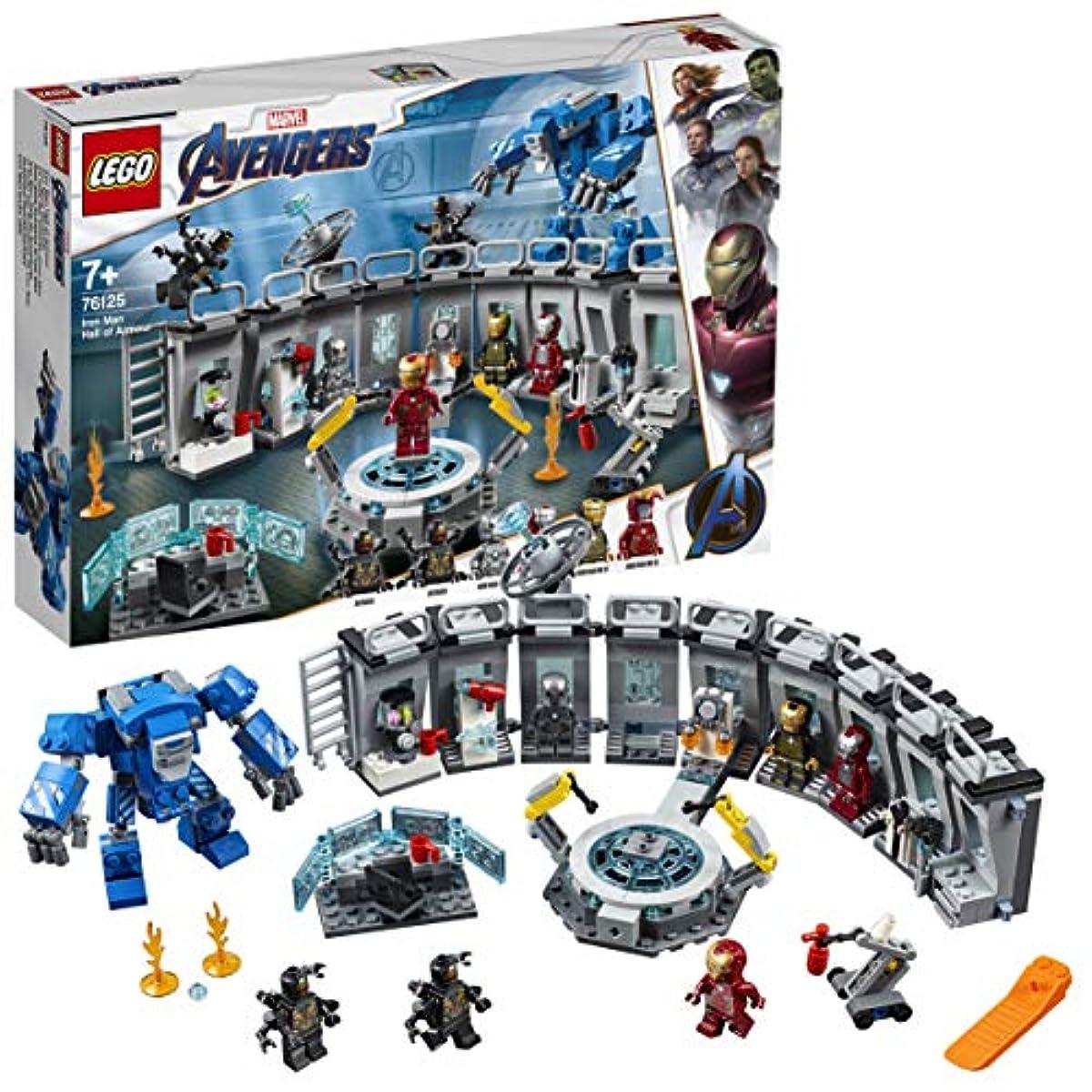[해외] 레고(LEGO) 슈퍼히어로즈 아이언맨 연구소 76125