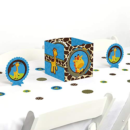 Big Dot of Happiness Giraffe Boy - Baby Shower or Birthday Party Centerpiece & Table Decoration Kit]()