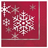 Sparkle Tree Christmas Beverage Napkins, 16ct