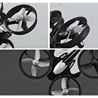 Shybuy RC Quadcopter Drone With 720p HD Camera and Headless Mode - 6 Axis Gyro RTF Includes Extra Battery To Double Flight Time
