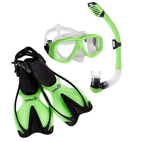 Snorkeling Set Flexible Mouthpiece Adjustable