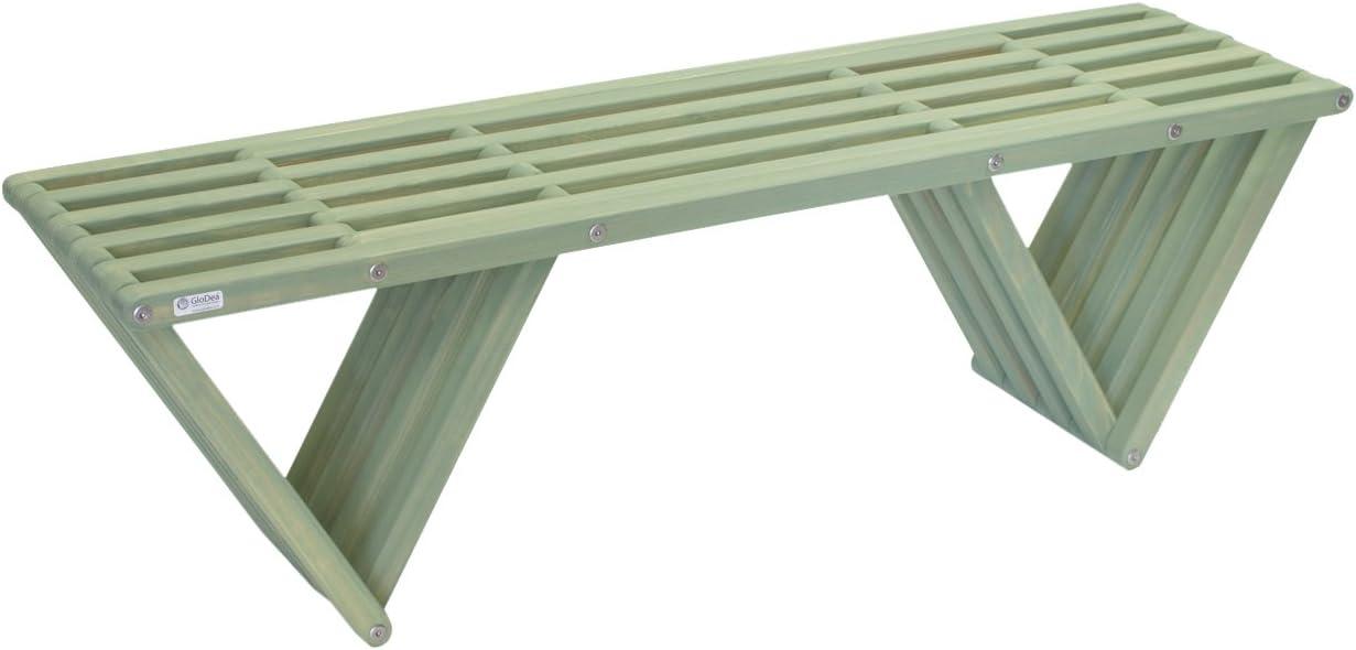 GloDea Bench X60, Woodland Green