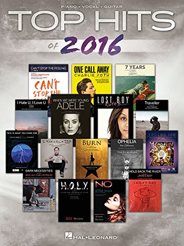 Top Hits of 2016 (Top Hits of Piano Vocal Guitar)