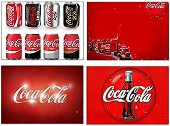 Set of 4 Placemats Coca Cola (3° version)