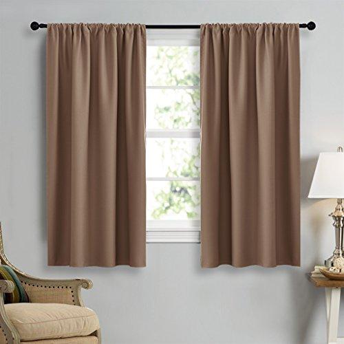 NICETOWN Kitchen Window Blackout Curtains - Window Treatment
