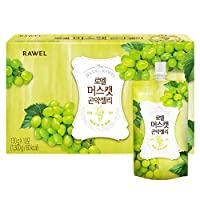 Rawel Delicous Diet Konjac Jelly 1box / 10packs / Dietary Supplement for Weight Loss/Low Calories (Muscat)