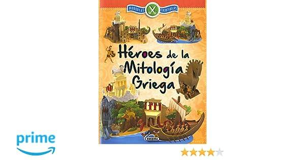 Héroes de la mitología Griega (Maquetas recortables): Amazon ...