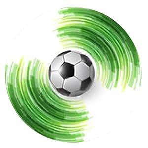 alfombrilla de ratón Balón de fútbol - ronda - 20cm