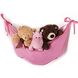 One Grace Place Simplicity Toy Bag, Pink