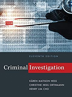 criminal investigation christine hess orthmann k ren m hess rh amazon com Cartoon Criminal Investigation Police Criminal Investigation
