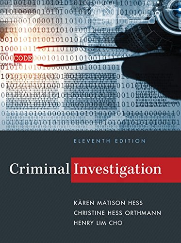 Criminal Investigation (MindTap Course List)
