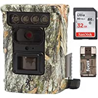 Browning BTC9D Defender 850 Wifi / Bluetooth Trail Game Camera (20MP, Camo) & 32Gb Card with Focus Reader