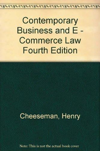 Contemporary Business Ebook