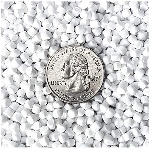 10 Pounds Extra Heavy Plastic Pellets for Weighted Blankets, Corn Hole Bags, Reborn Dolls, Bears, Crafts, Game Changer Bags. Washer & Dryer Safe. Victory Pellets Extra Heavy. Made in USA. ()