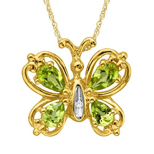 7-8-ct-natural-peridot-butterfly-pendant-necklace-with-diamond-in-10k-gold