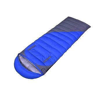 El saco de dormir del sobre, el acampar al aire libre mantiene caliente el saco de ...