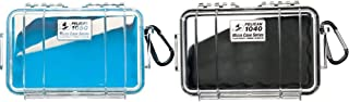 product image for Pelican 1050 Micro Case (Blue/Clear) & Pelican 1040 Micro Case (Black/Clear)