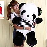 80cm 32'' Big Size Cute Plush Doll Toy Stuffed Animal Panda Pillow Bolster gift