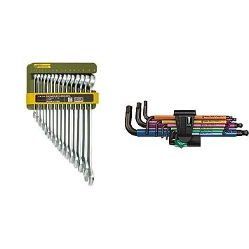 Proxxon Industrial Ring-Maulschlüssel-Satz 15teilig 6-21mm 23821