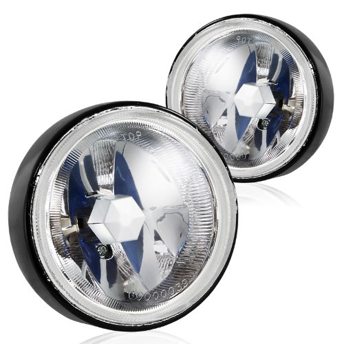 4 inch chrome driving lights - 9