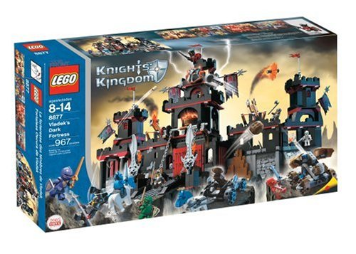 LEGO Knights Kingdom Vladeks Dark Fortress (Lego Knights Kingdom Santis)