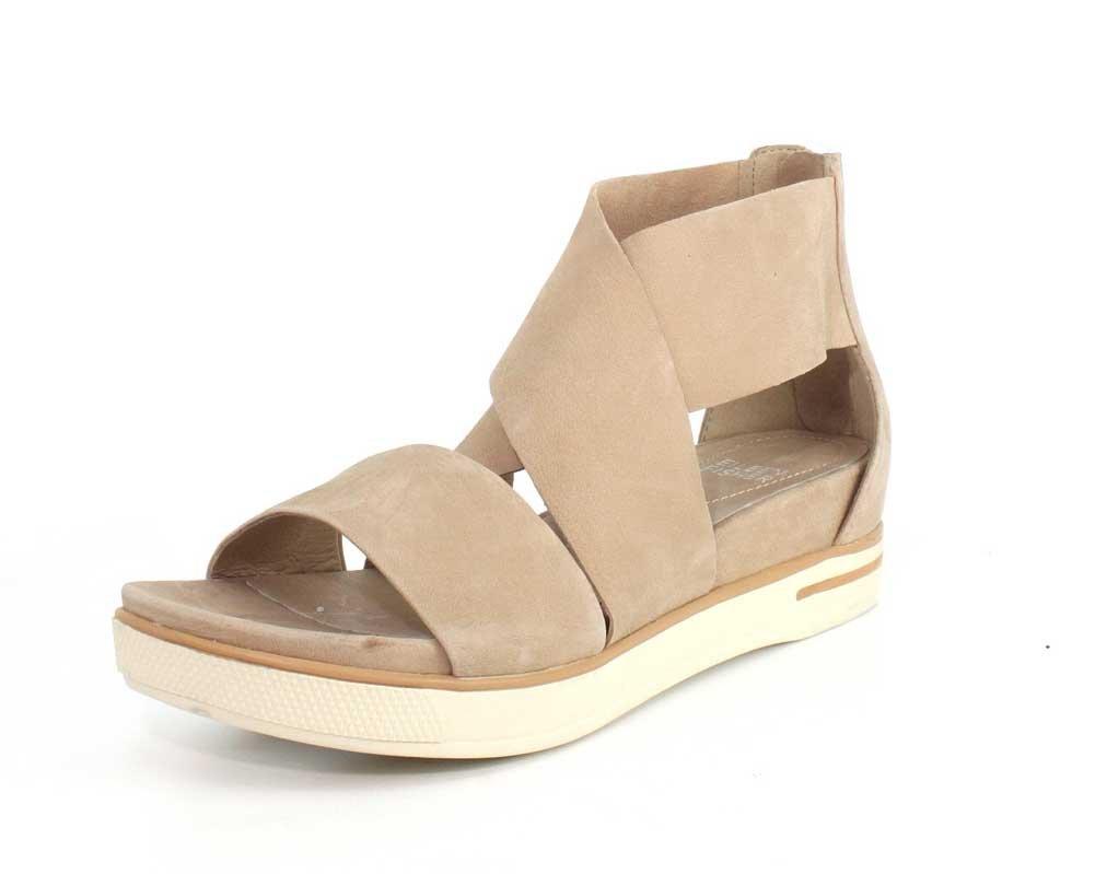 Eileen Fisher Women's Sport-Nu Flat Sandal B079ZC4N8F 6.5 B(M) US|Latte