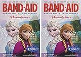 Band-Aid Adhesive Bandages Disney's Frozen, Assorted Sizes, 2 Packs of 20 Bandages Each