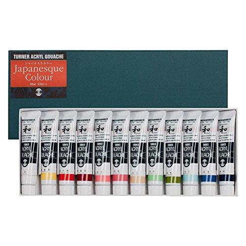 Turner Acryl Gouache Set of 24 20 ml Tubes