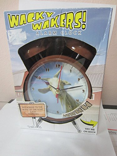 Wacky Wackers Alarm Clock Battery, Goat