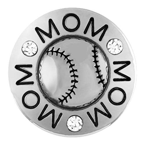 Ginger Snaps Baseball Mom Snap