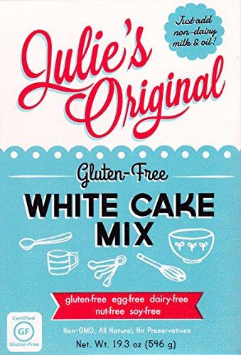 Julie's Original Gluten-Free White Cake Mix (Vegan), 19.3 Ounce