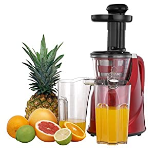 VonShef Professional Slow Fruit Vegetable Masticating Juicer Machine : Part of it broke already!!