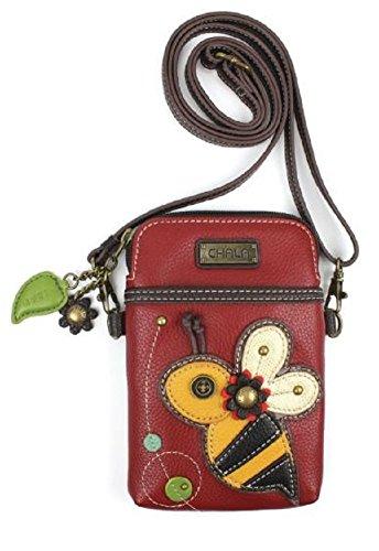 Charming Chala Buzzing Bee Cell Phone Purse Mini Crossbody Bag]()