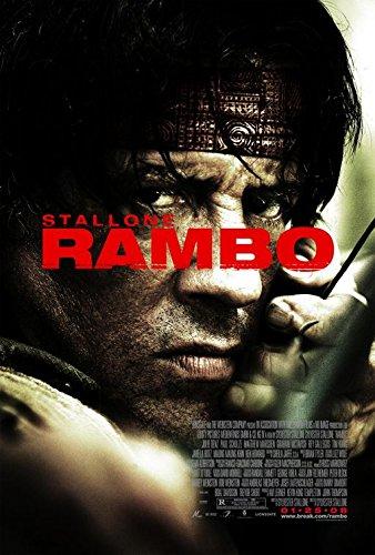 "RAMBO Movie Poster POSTCARD 5""x7"" Original Promo Item 2008 Sylvester Stallone"