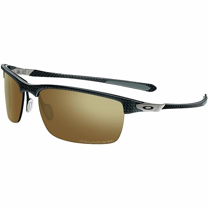 Amazon.com: Oakley Carbon Blade anteojos rectangulares para ...