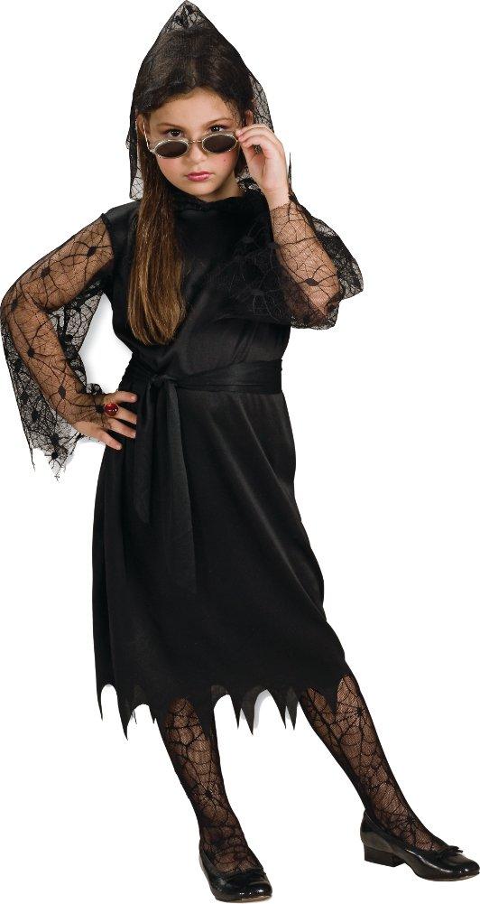- 51M7vhbJMdL - Rubies Child's Gothic Lace Vampires Costume