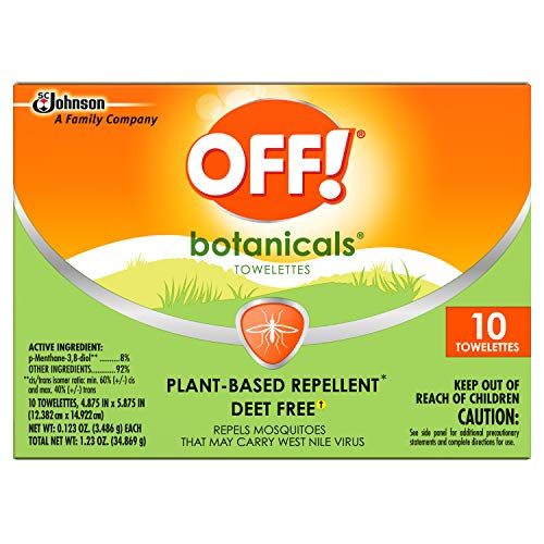Off! Botanicals Insect Repellent Towelettes (10 ct) -