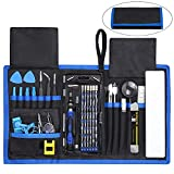 Drone Repair Parts - 84 in 1 Repair Tools Kit with Magnetic Driver Kit, Apsung Professional Electronics Precision Screwdriver Set with Portable Bag for Repair Computer, Cell Phone, PC, iPhone, MacBook, Laptop etc