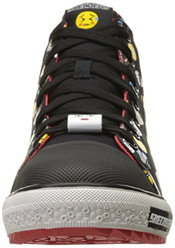 Skechers 95358N/CCRD Niedrige Sneakers Boy Black/Red