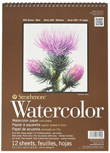 Strathmore 400 Series Cold Press Wire Bound Watercolor