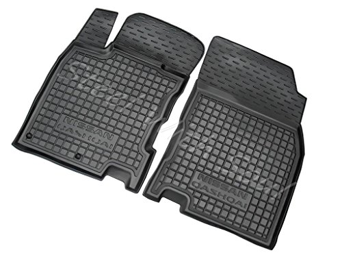 Av-Gumm Fully Tailored Rubber/Set of 5 Car Floor Mats Carpet for Nissan Qashqai (J11) 20142017