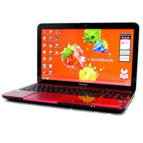 東芝 TOSHIBA dynabook T552 36HRS PT55236HBMRS3 ルビーロゼ Celeron 4GB 750GB ブルーレイ 15.6型液晶 Webカメラ パソコン の商品画像