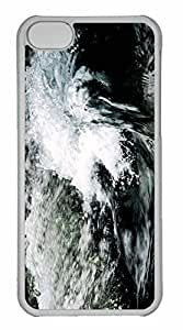 iPhone 5C Case, Personalized Custom Wave for iPhone 5C PC Clear Case
