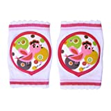 Lil' Melon Birdie Baby Knee Pads with Silicone Traction