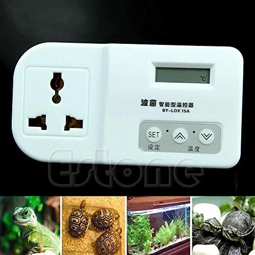 (Temperature Instruments - Thermostat Digital Snake Heat Mat Lamp Incubator Aquarium - Temperature Instruments Temperature Instruments Stone Lizard Sticker Heat Lamp Thermostat Timer Usbtiny T)