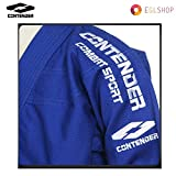 Contender Blue Jiu Jitsu Gi Combat Sport Uniform