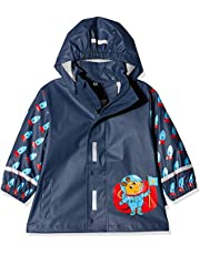 Playshoes Regen-Mantel die Maus Weltraum jongens regenjas