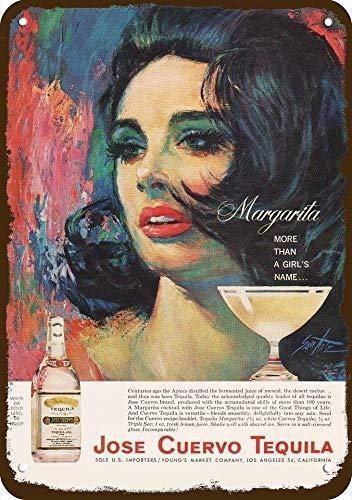 Eyrrme 1964 Jose Cuervo Tequila Cartel de Aluminio de ...
